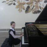 За роялем Елизавета Филюк